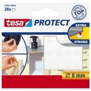 TESA Lärmstopper, rund, Ø8mm, transparent, 28 Stk.