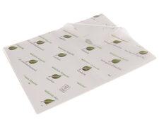 BIOFrisch Einschlagpapier fettdicht 1/4 Bogen 37,5 cm x 50 cm 12,5kg  1250 Bögen