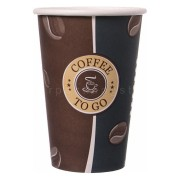 Kaffeebecher Topline Slim, Coffee to go, Pappe beschichtet, 300 ml, 50 Stk.