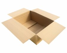 Faltkarton  800x550x(200)-300mm VARIABLE HÖHE 2wellig