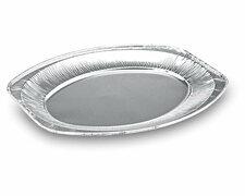 Alu-Catering-Platte, Aluminium-Partyplatte, Servierplatte 333 x 233 mm,  10 Stk.