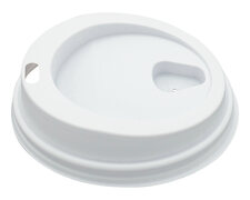 Domdeckel passend für Pappbecher - Coffee to go - 180ml mit 73mm Ø, 100 Stk.
