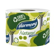Toilettenpapier 2-lagig Harmony Natural Maxima garantierte Länge 69 m
