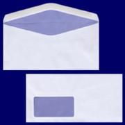 Briefumschlag DL-C5/6 220x110mm, 75gr, NK MF, weiß, 50 Stk.