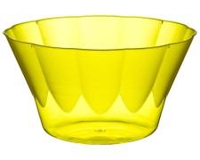 Eisbecher PS rund 500 ml Ø 13,1 cm   Höhe 7,1 cm gelb ROYAL  50 Stk.