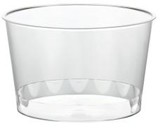 Eisbecher PS rund 400 ml Ø 11 cm   Höhe 6,9 cm glasklar CLASSIC  50 Stk.