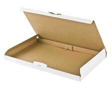 Großbriefkarton Maxibriefkarton DHL 255x190x20mm DIN A5/B5 weiß