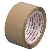 1-PACK Packband Klebeband OPP-909NN, 50 mm x 66 m, Low Noise braun