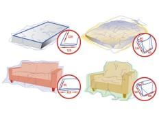 Schutzhüllen-Set für Matratze, Couch, Bett und Sessel