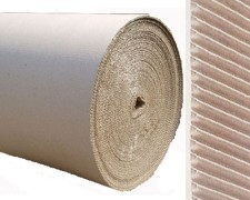 Rollenwellpappe, Wellpappe auf Rolle,  30cm x 70m, B-Welle