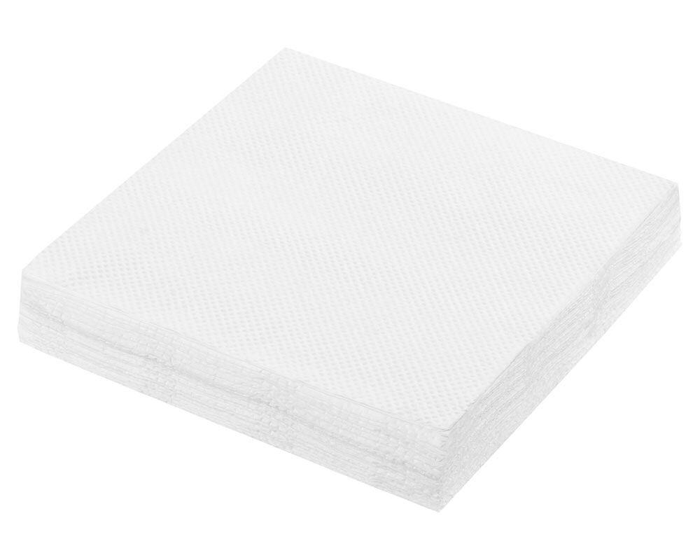 Servietten Prägeservietten 1-lagig, 33 x 33 cm weiß, gute Qualität,  70 Stk.