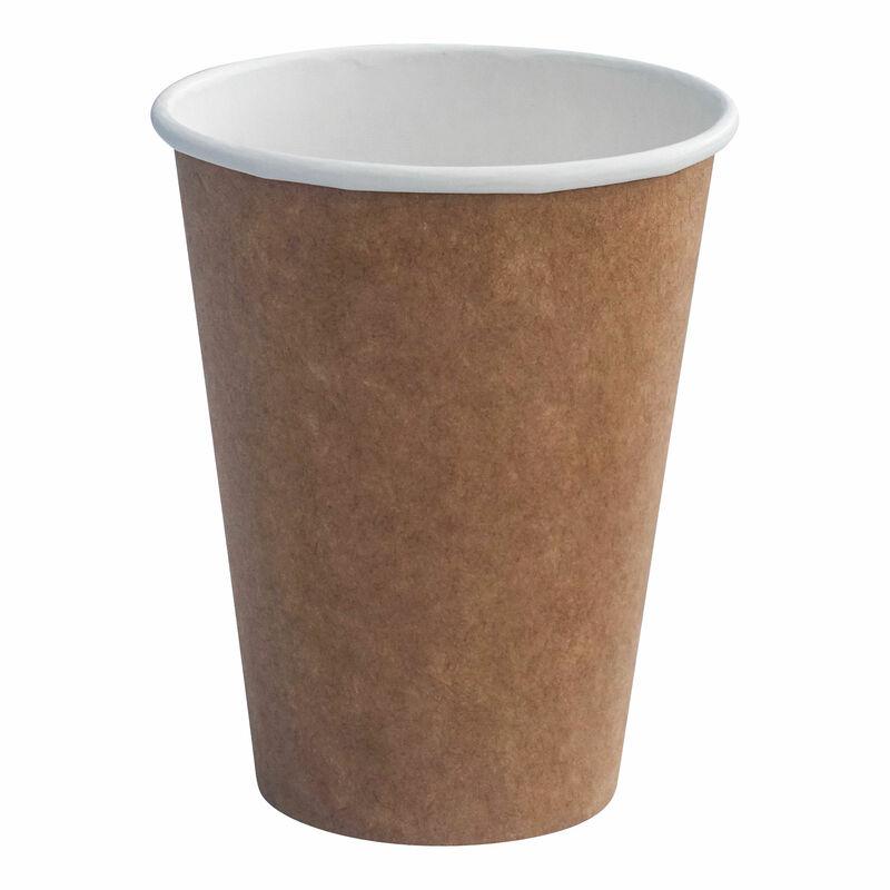 Heiß- und Kaltgetränkebecher aus Kraftpapier beschichtet,  4oz., 100 ml 50 Stk.